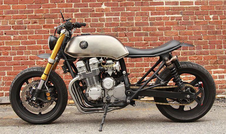 John Ryland Of Classified Moto Has Produced Another Classy Custom Honda Nighthawk 750 With His Team