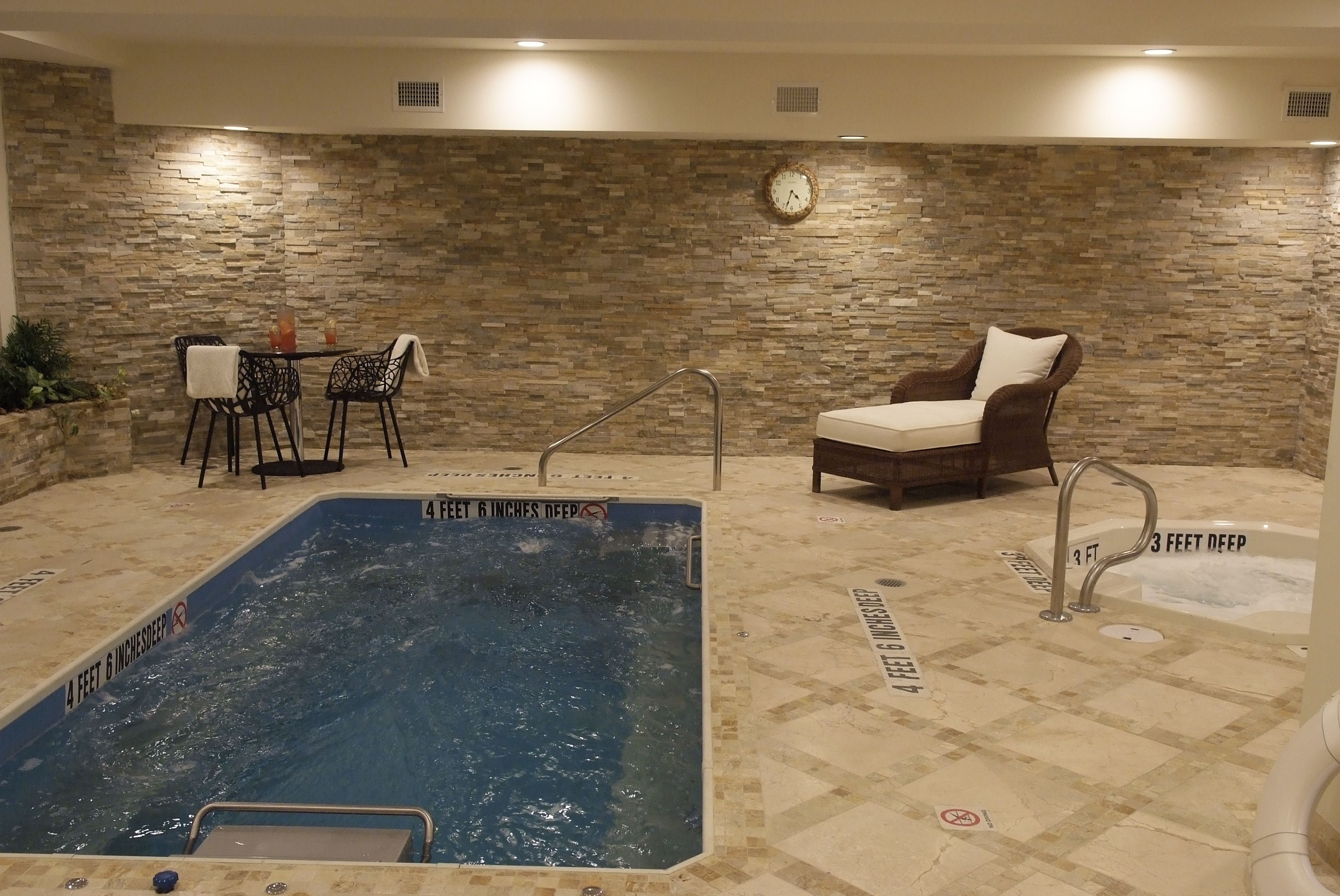 Indoor Pool and Hot Tub at the Viana Hotel and Spa on Long Island ...