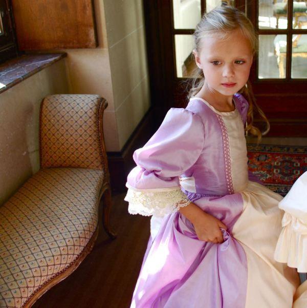 @Nathalie de Mademoiselle P, Marquise de Anges dress #tobeaprincess #MademoiselleP #childrens #kids #childrenswear #kidswear #kidsfashion #girls