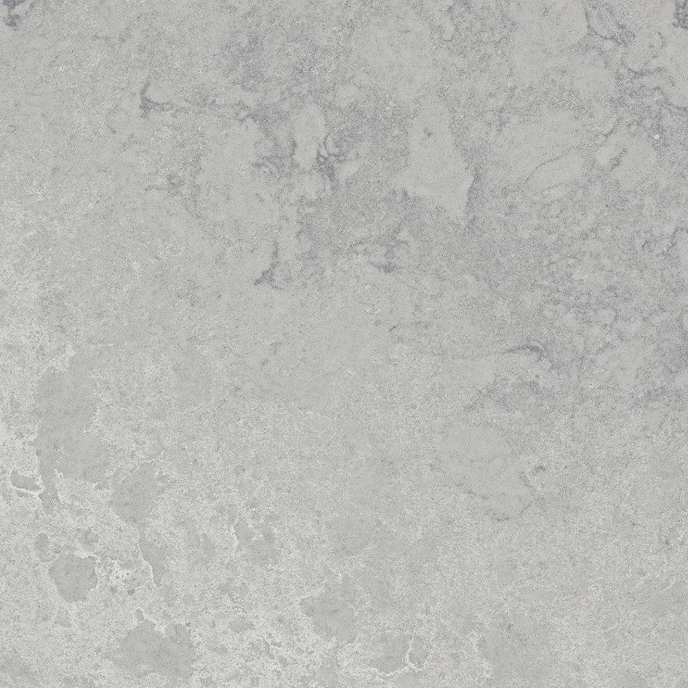 Caesarstone 10 In X 5 In Quartz Countertop Sample In Airy Concrete With Rough Finish 4044 Quartz Countertops