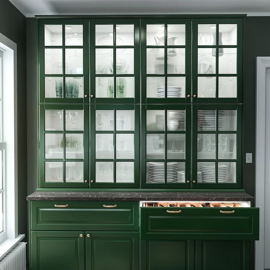 Maxmademedoit Maxmademedoit Instagram Photos And Videos Green Kitchens Dark Green Cabinets Walnut Wor Green Kitchen Designs Green Cabinets Green Kitchen