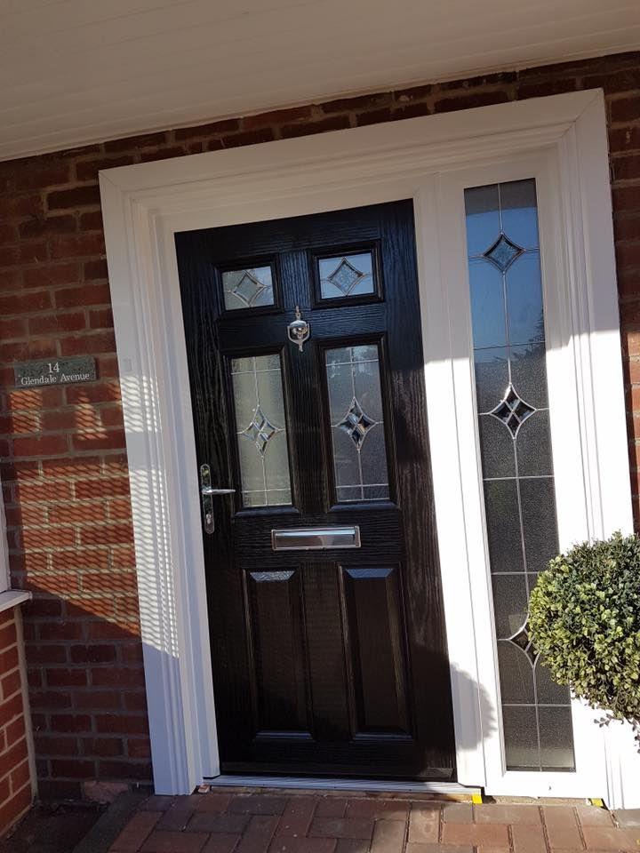 Composite Door In Blyth Glass Side Panel Excel North East Composite Front Door Front Door Design Doors
