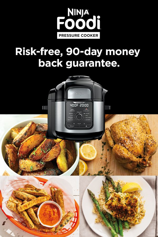 Buy Your Ninja Foodi Today.