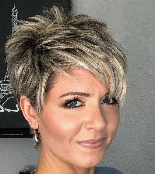 Trend Kurzhaarfrisuren Frauen Fur Feines Haar Haarschnitt Kurze Haare Frisuren Kurze Haare Frisur Ideen
