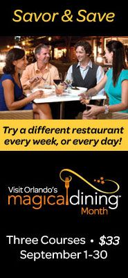 Visit Orlando S Magical Dining Month