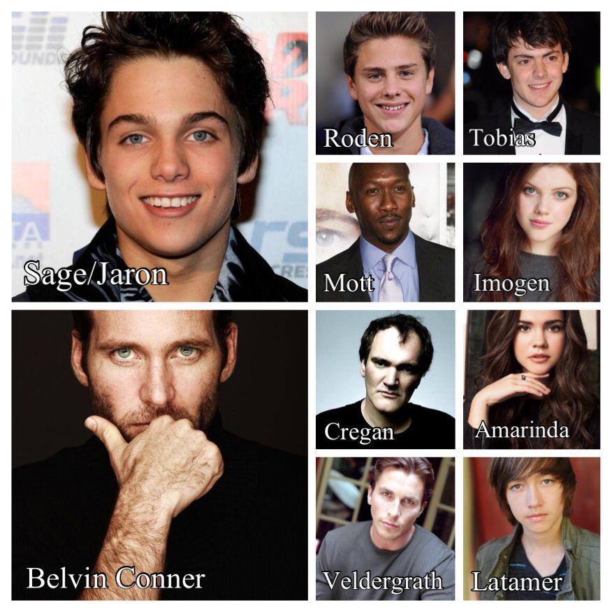 OKAY TELL ME THIS ISN'T THE MOST PERFECT DREAM CAST EVER