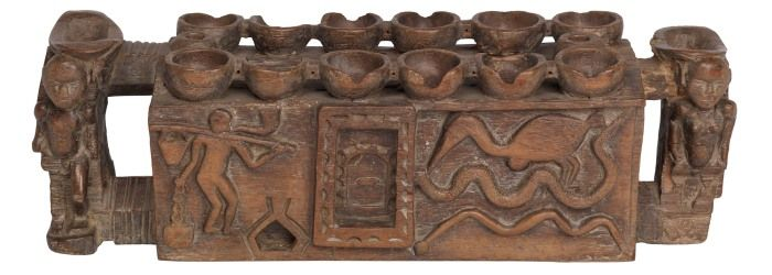 Warri Board Game from Glasgow Museums Collections | Traditional ...