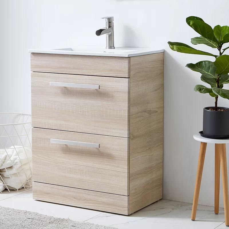 Ebern Designs Thursten 24 Single Bathroom Vanity Set Wayfair Bathroom Vanity Single Bathroom Vanity Vanity Set