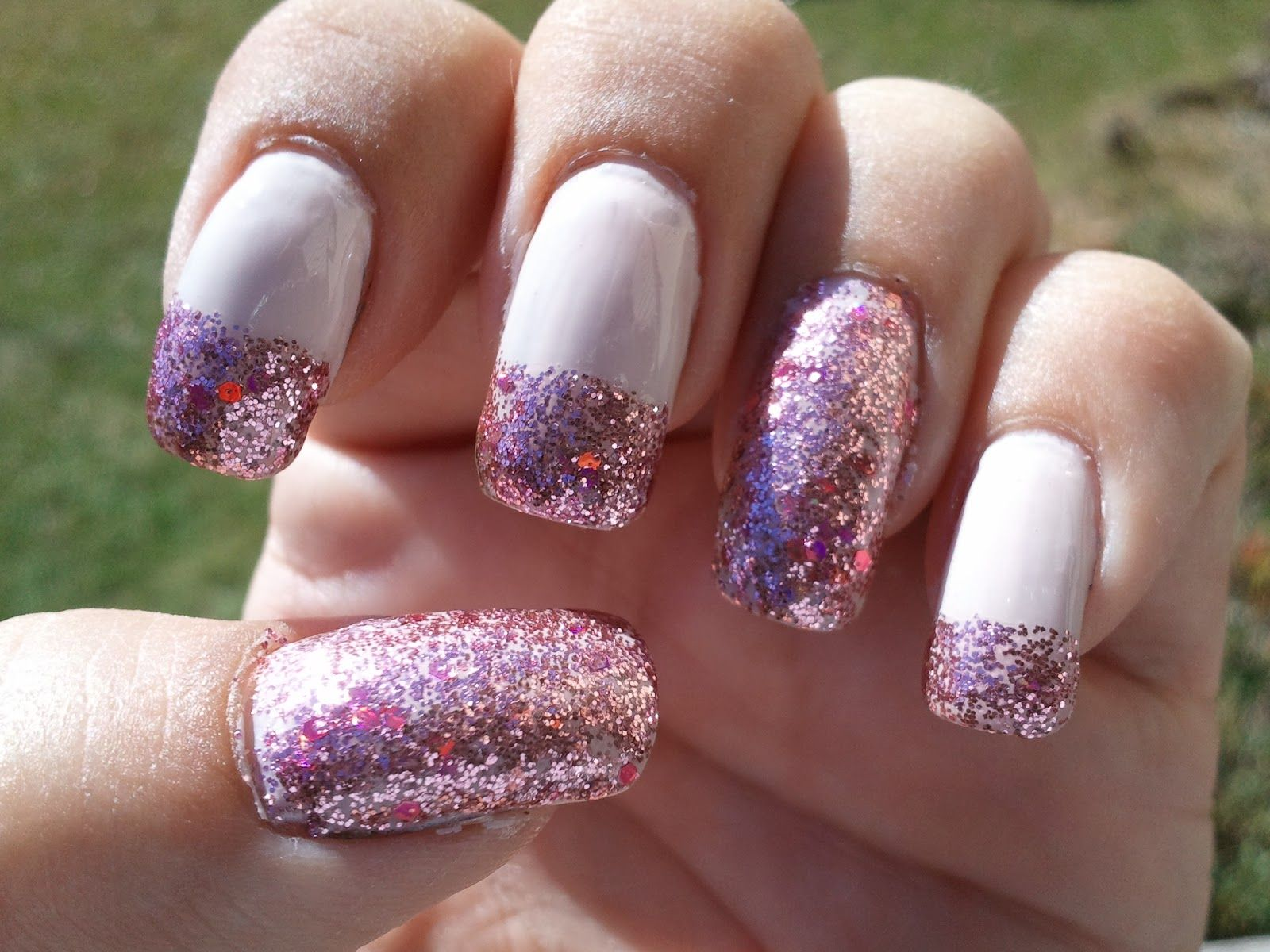 Glittery Fingers & Sparkling Toes: How To: Perfect French Nails | Re ...