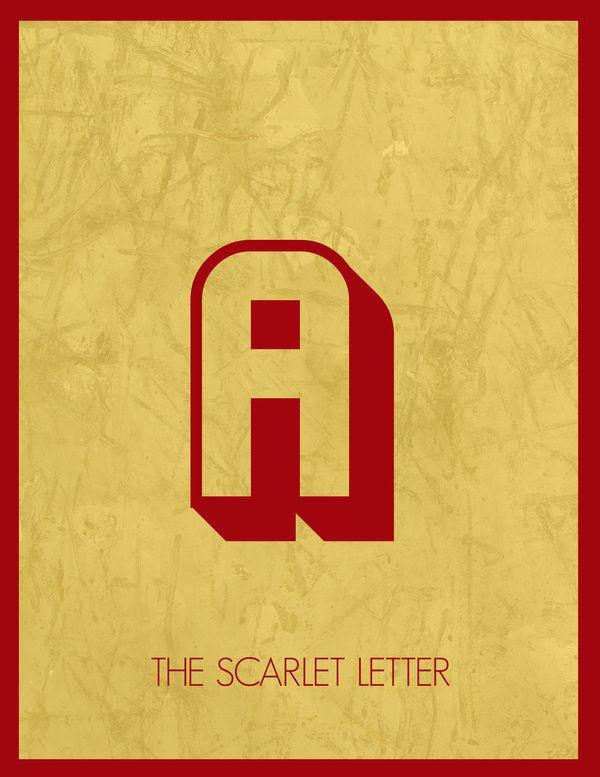 scarlet letter book cover