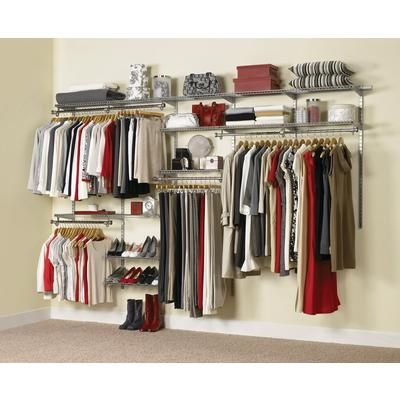 Rubbermaid - Configurations Custom Closet Kit - 6ft. To 10ft. - 1781115 -  Home