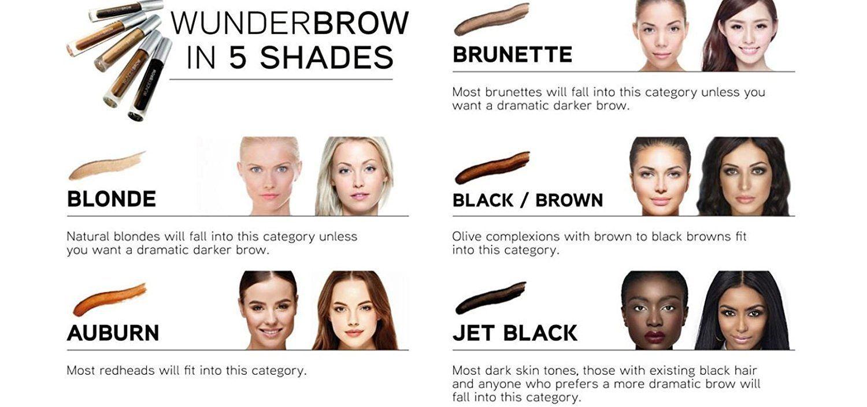 Wunder2 Wunderbrow Eyebrow Gel Perfect Eyebrows in 2 Mins