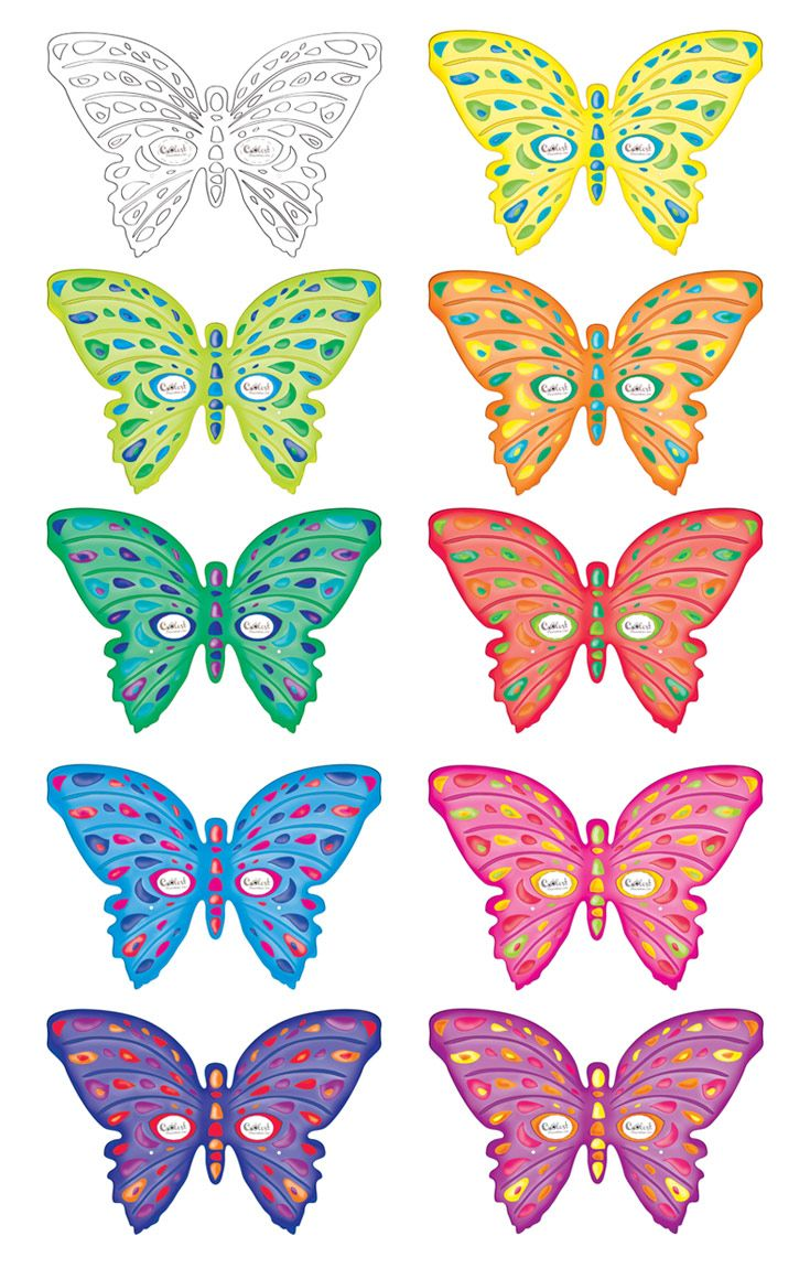 Gorgeous image within printable butterfly