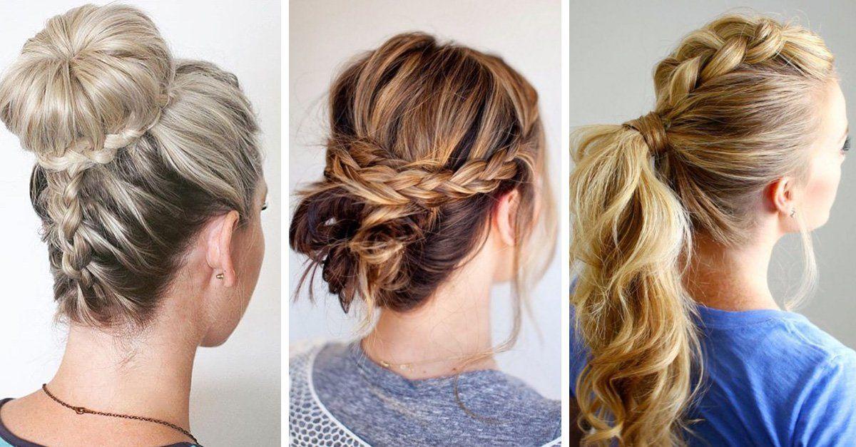27 Peinados Recogidos Faciles Fiesta Cabello Largo Corto Paso A Paso Peinados Faciles En 2020 Peinados Faciles Pelo Corto Peinados Cabello Largo