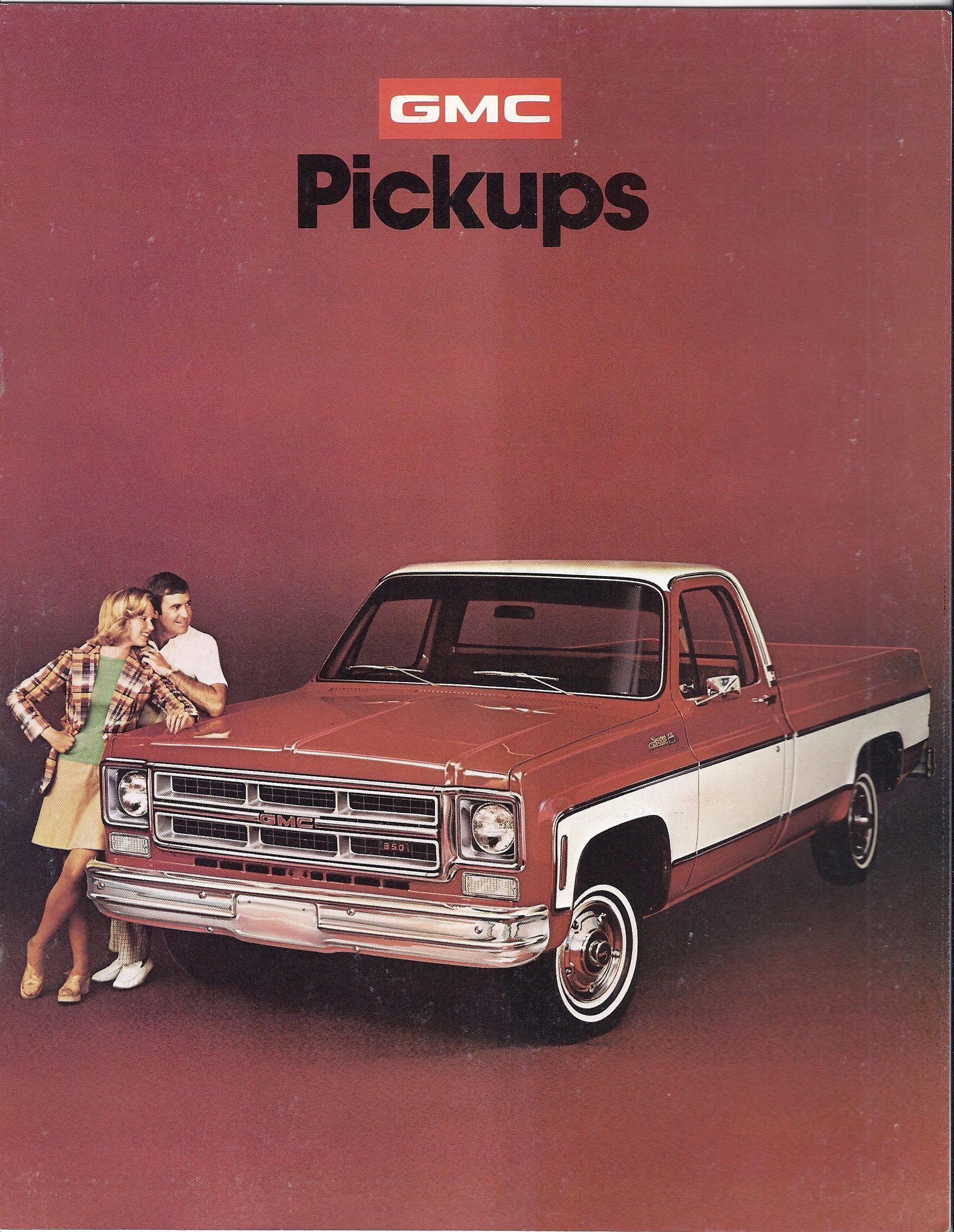 """1975 GMC Truck, mine was a 4x4, short bed, 10"""" wheels and big tires, custom paint, pickup"""