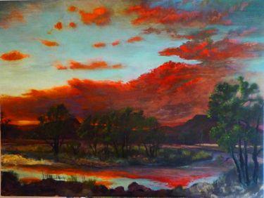 """Saatchi Art Artist John Defeo; Painting, """"Sunrise over the Gunnison Valley"""" #art"""