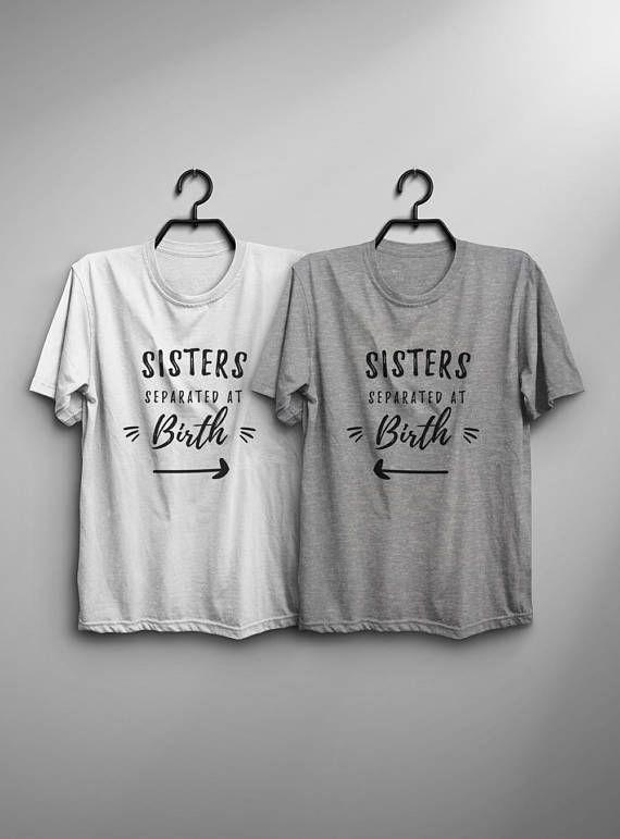 Cute T Shirt Designs For Best Friends | Bestfriend Birthday Gift Best Friend Shirt Women Graphic Tee Sister