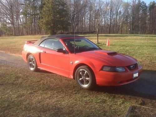 2004 Mustang Gt 40th Anniversary Limited Edition In Competition Orange Mustang Gt Mustang Ford Mustang