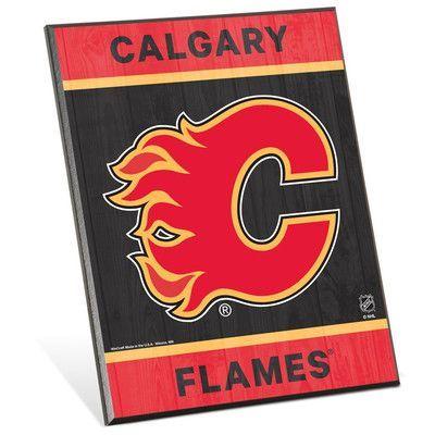 Wincraft NHL Wall Décor NHL Team: Calgary Flames