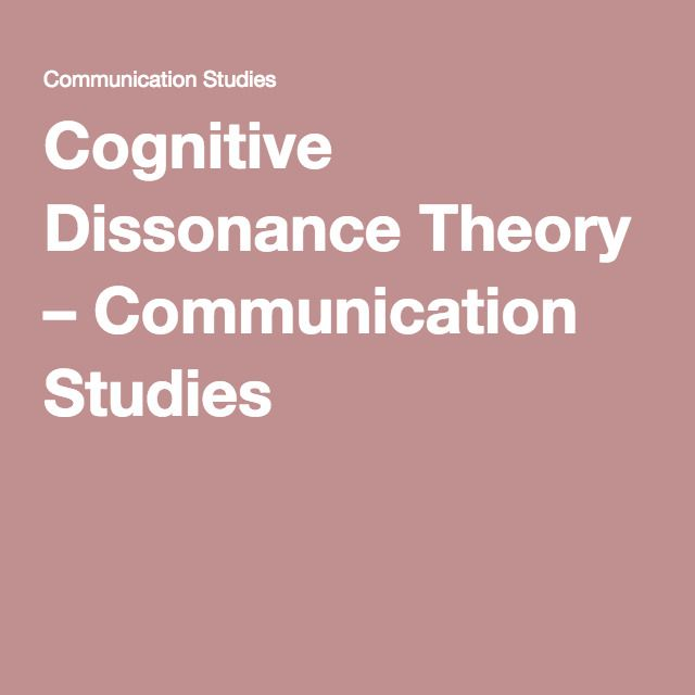 cognitive dissonance case study