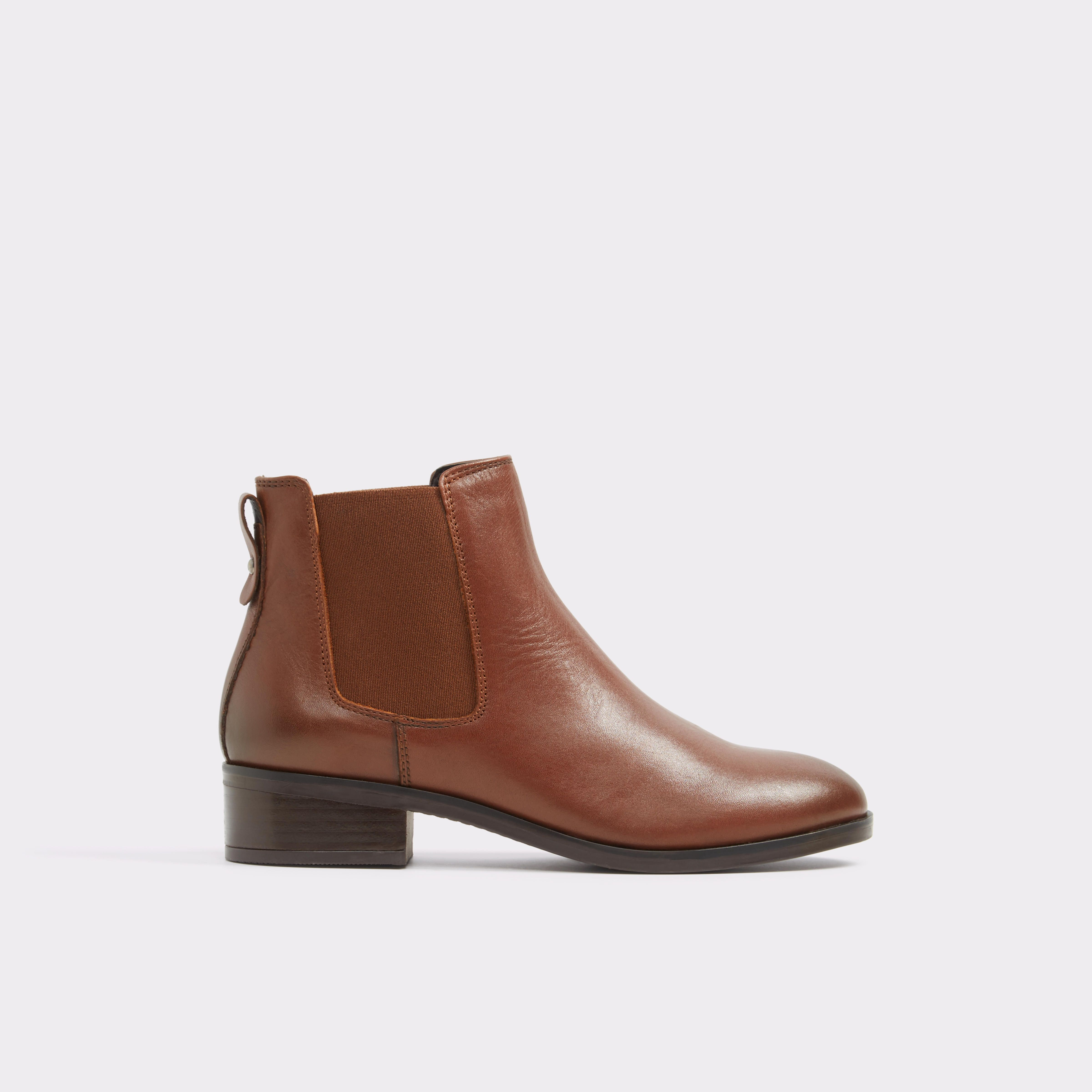 Meaven Cognac Women's Ankle boots