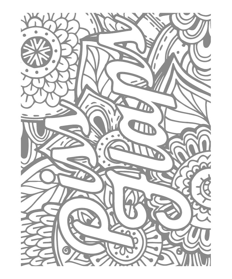 Gyazo - Amazon.com: Sweary Coloring Book: Swear Words ...