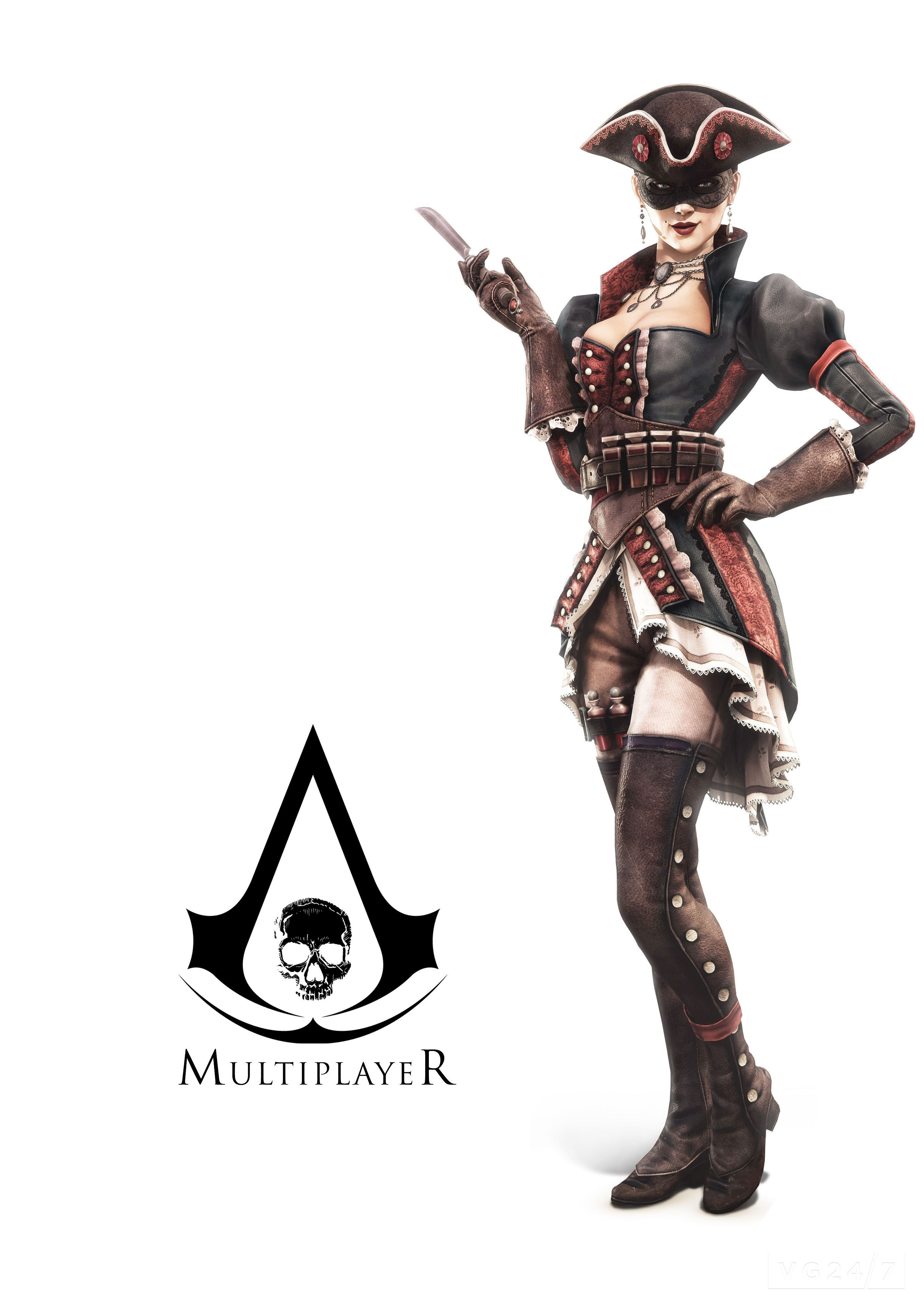 Assassin S Creed S Online Play Has A Huge Amount To Offer Would Be Pirates This Autumn Patri Assassins Creed Female Assassins Creed Black Flag Female Assassin