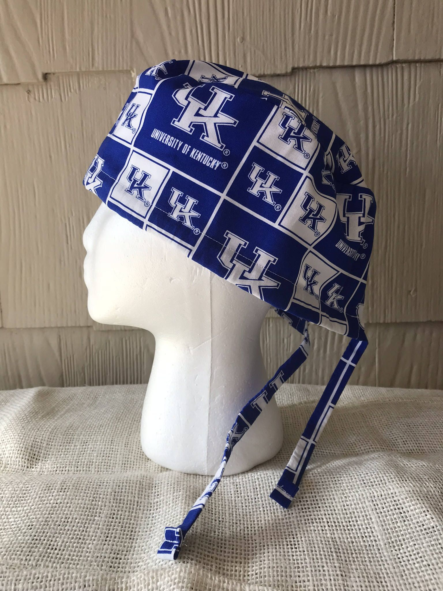 University of Kentucky Wildcats Royal Embroidered Scrub Hat