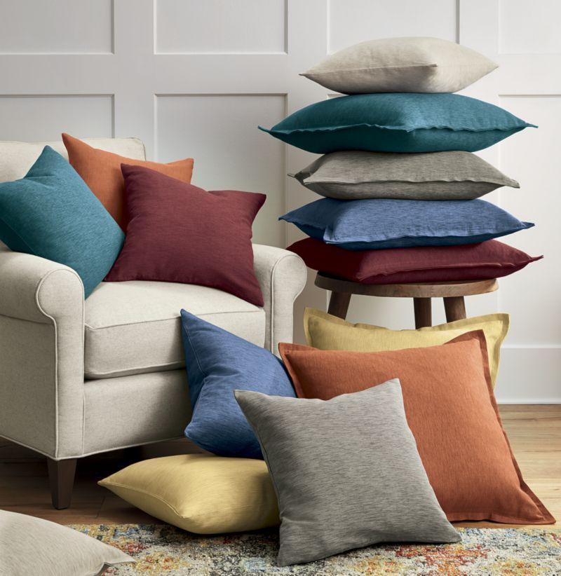 Linden Indigo Blue 23 Pillow with