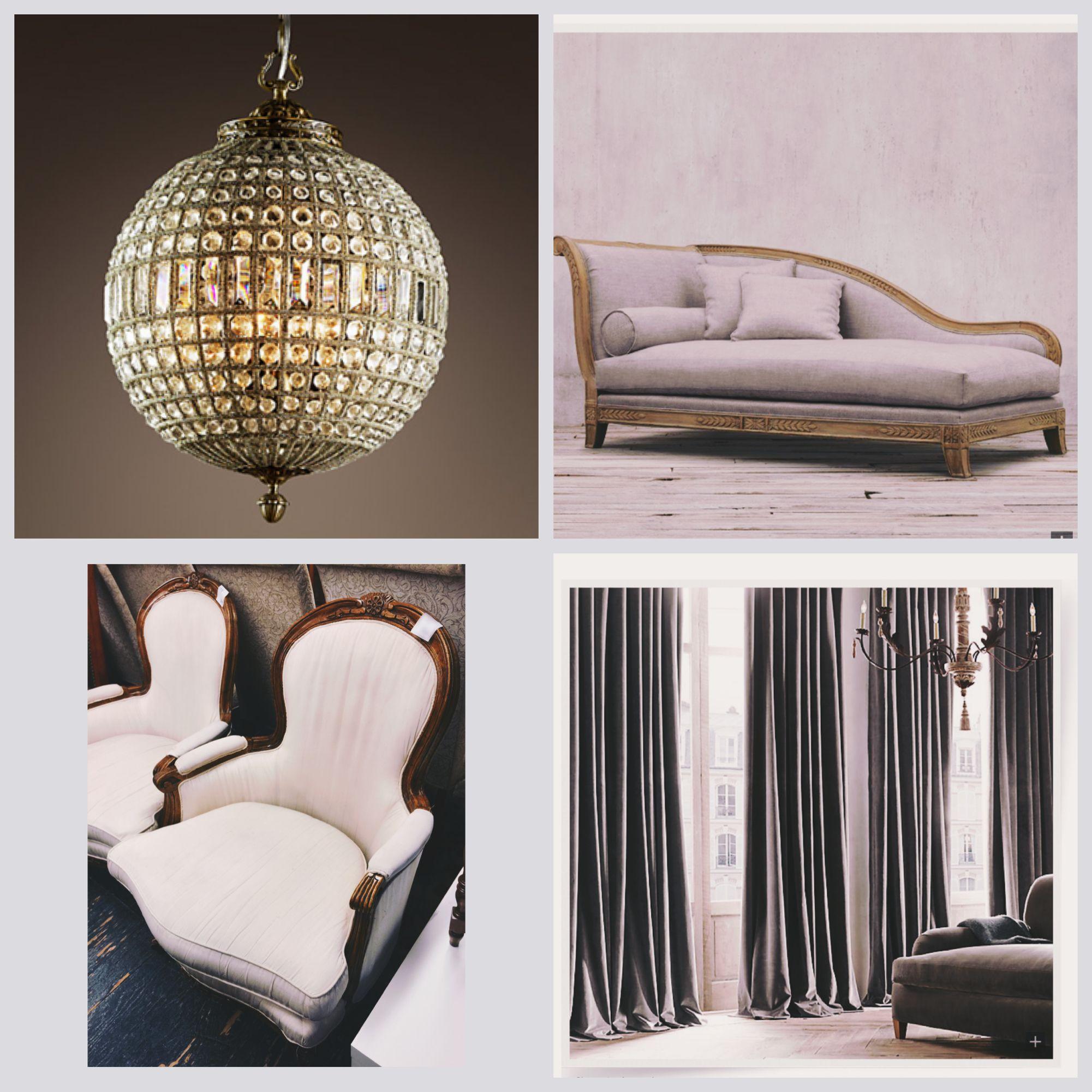 Living room plans - velvet, rich dark colours and vintage lights - regency meets modern masculine