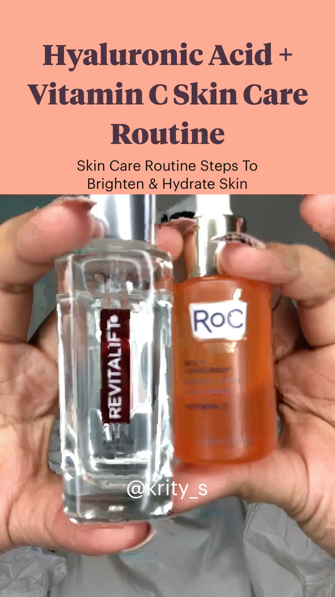 Skin Care Routine Steps To Brighten & Hydrate Skin