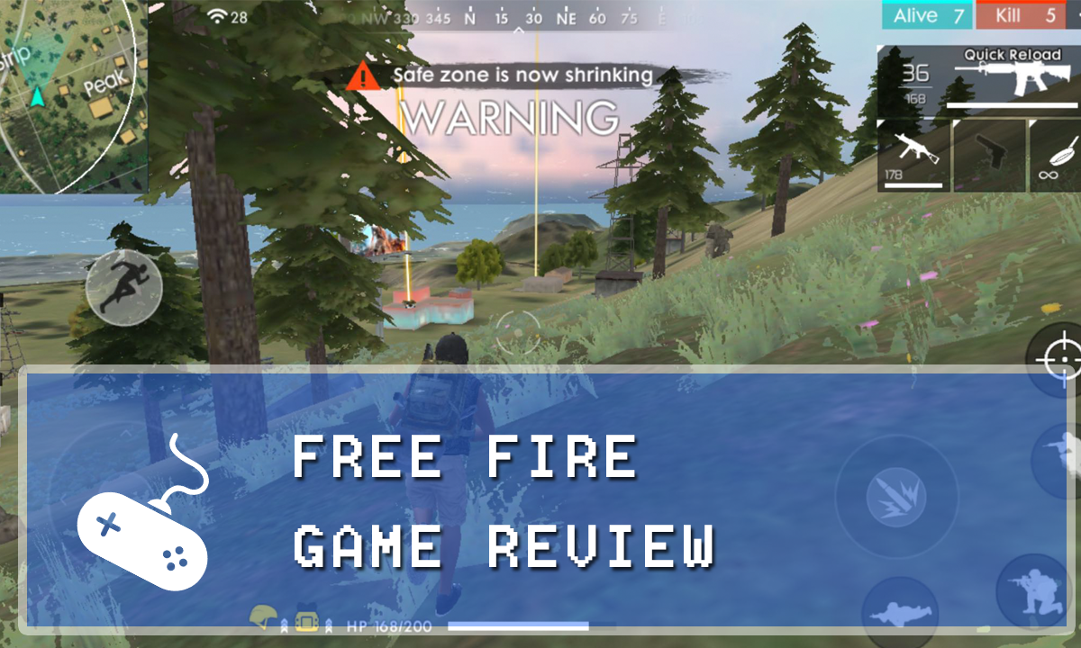 Garena Free Fire Mobile Game Review (IOS/Android Game