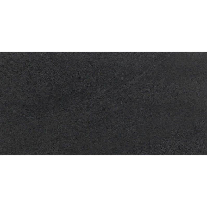 Carrelage Extérieur Forte Pierre Noir Quartzite L30 X L