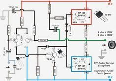 Pin by Tadi Duff on amp 1 | Audio amplifier, Circuit ...