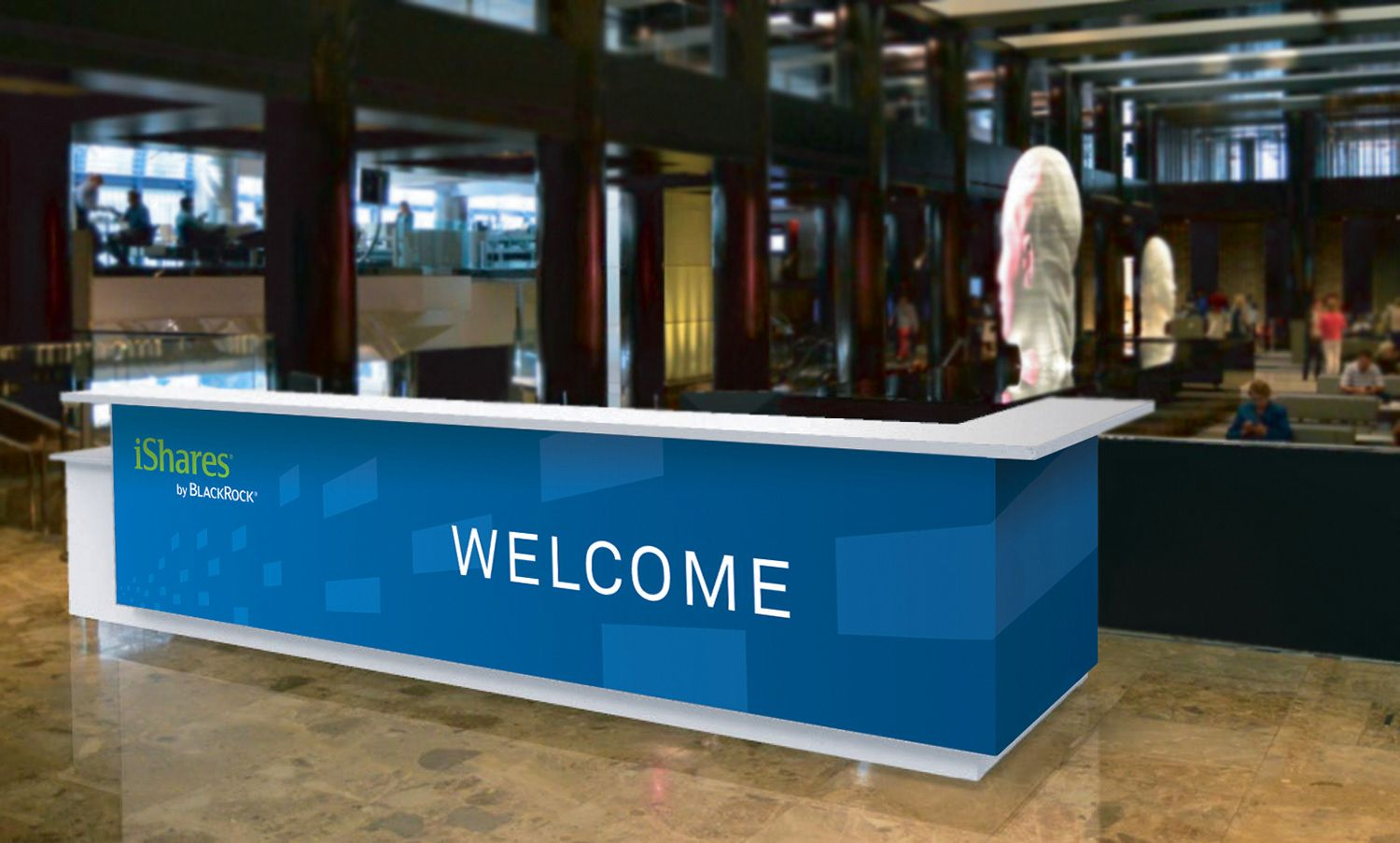 Exhibition Booth Counter : Image result for registration desk fab conf ideas
