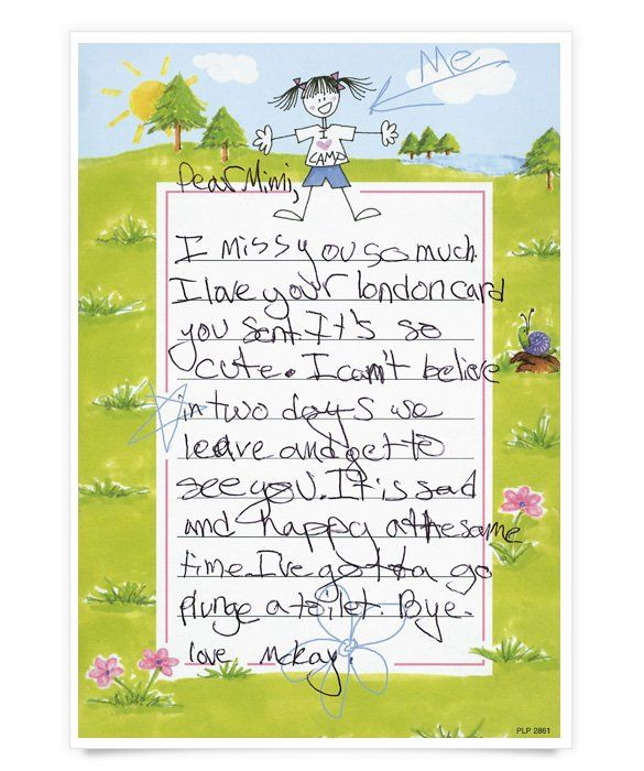 Hilarious Kids Letters From Camp MomMe  Nature Of Camp