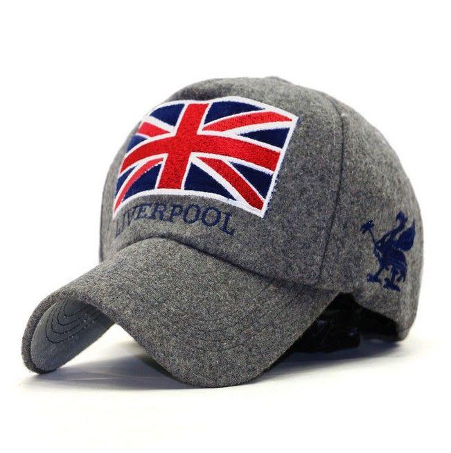 f6e3d4c08aa New Arrivals Liverpool Warm Felt Bone Snapback Hat Unisex Gorras Baseball  Cap Snap Backs With England