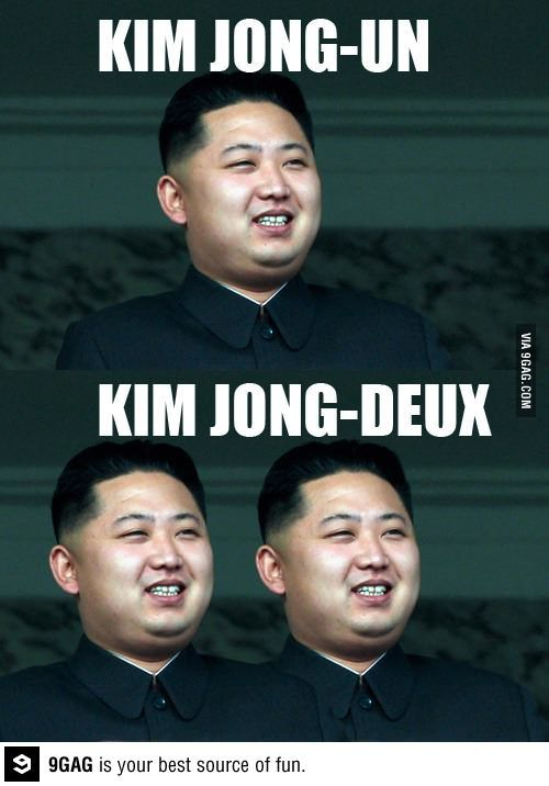 Kim Jong Un French Puns French Meme Funny French