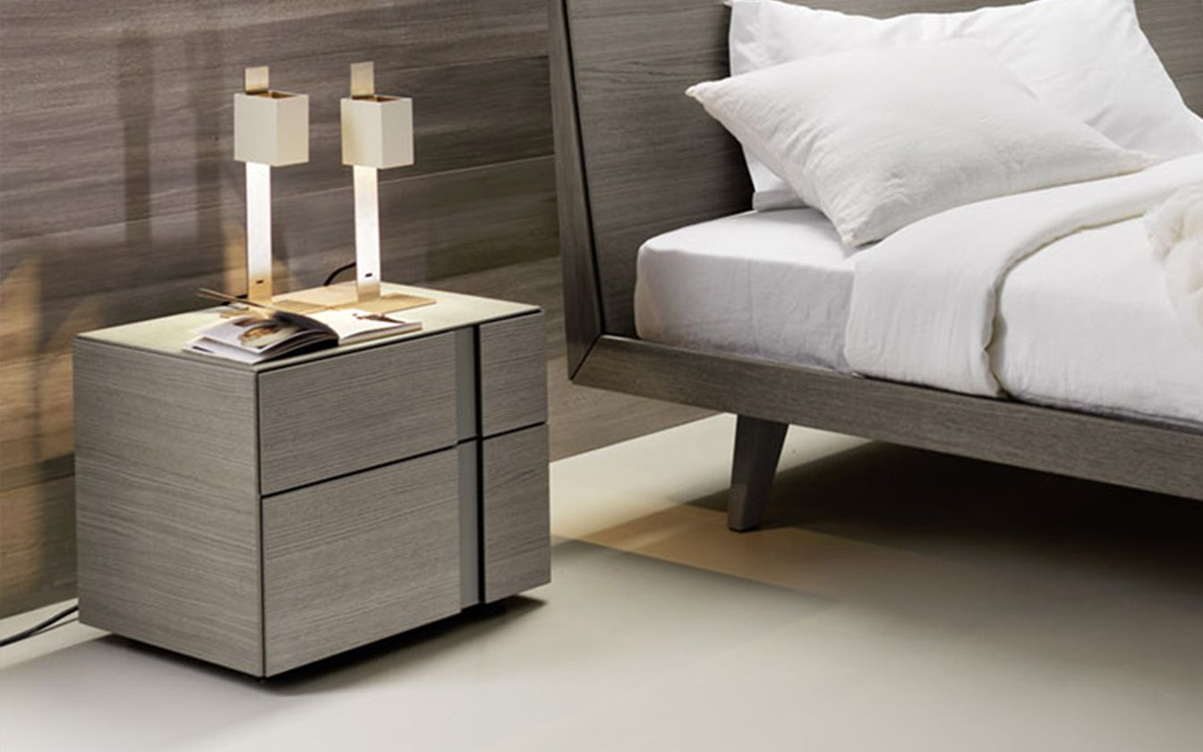 Nachttisch Abaco 2 Schubladen   Möbel / Schlafzimmermöbel / Nachttische    Die Abaco Serie Von San Giacomo Aus Italien Ist Eine Moderne Möbelserie Mit  ...