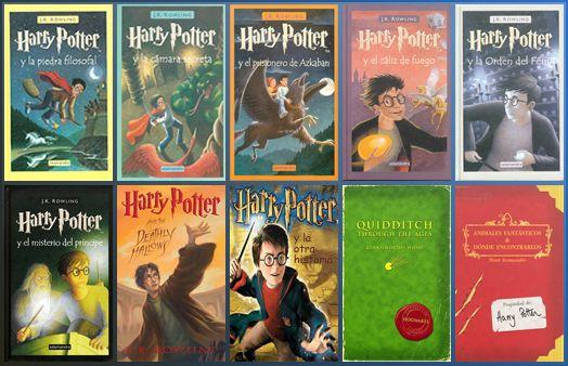 Descargar Libros De La Saga Harry Potter Espanol Pdf 1 Link Libros De Harry Potter Libros Libros De Lectura