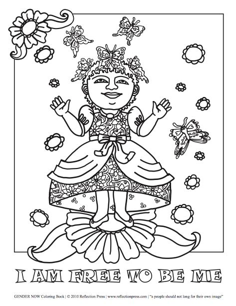 Beyond Binary Coloring Pages  People Power Coloring Pages  Pinterest
