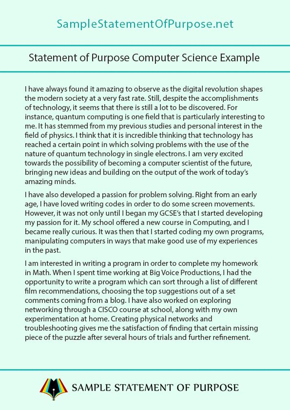 Essays On Childhood Computer Science Essay Topics This Image Presentation Presents The  Statement Of Purpose Computer  Proofread Essays also Write Comparison Essay Pin By Sample Statement Of Purpose On Statement Of Purpose  Mba Admissions Essay Sample
