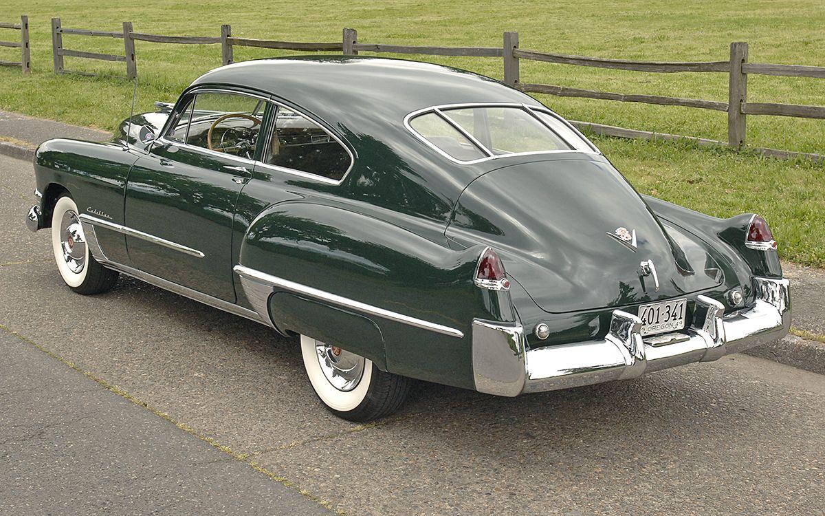 Cars On Line >> 1949 Cadillac Series 62 Sedanette Cars