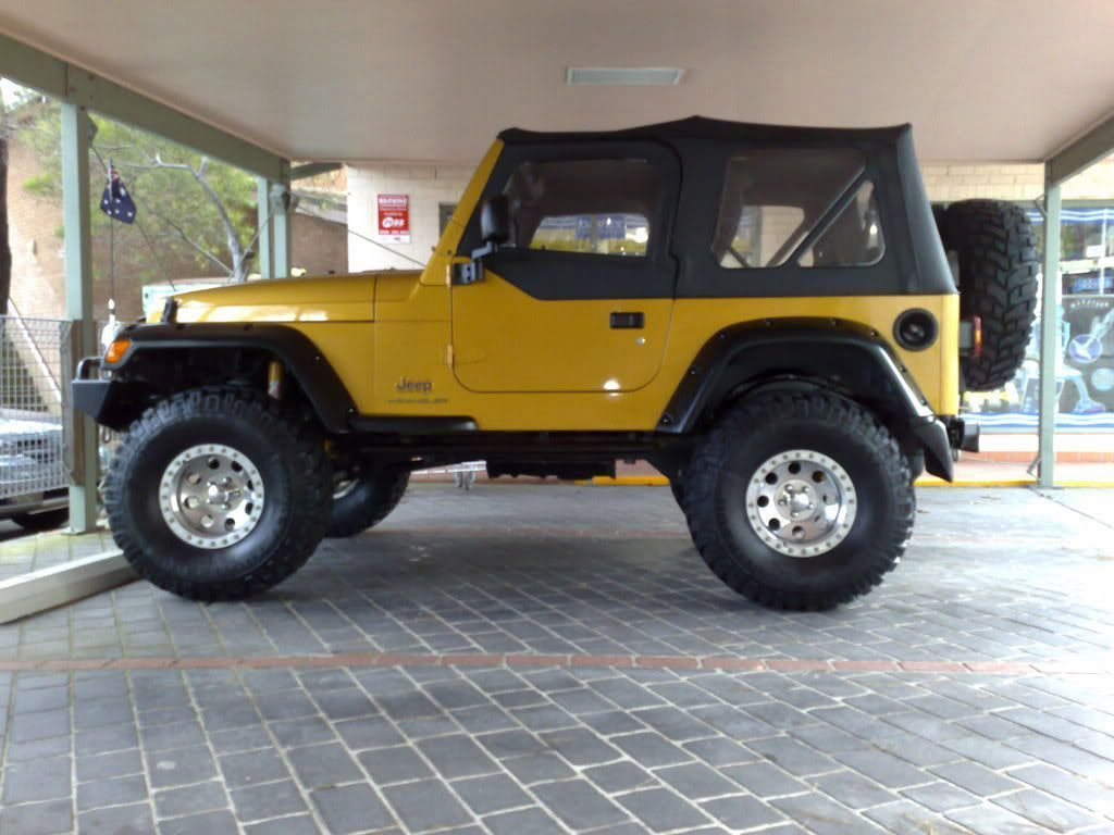 '03 jeep wrangler. Lifted. New rims. jeepwranglerlifted