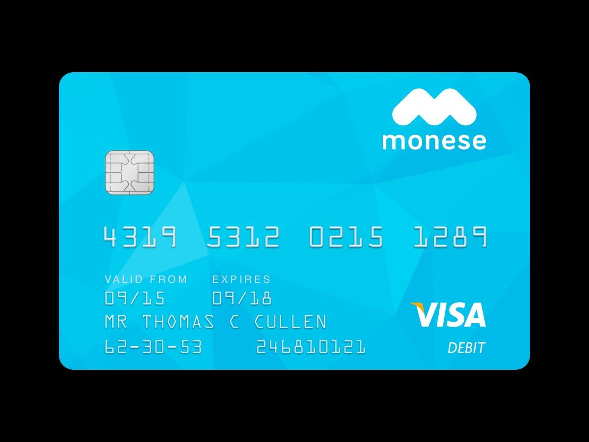 Take A Look Inside Monese The App That Lets You Apply For A Bank Account In 3 Minutes Visa Debit Card Banking App Mobile Banking