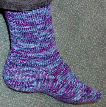 Two Needle Socks Knit Crochet Pinterest Knitting Knitting