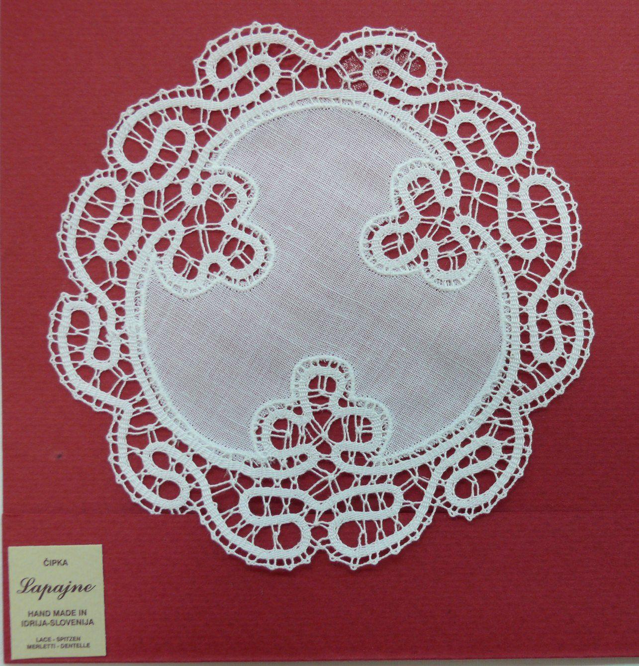 IDRIJA LACE A hand made bobbin lace   bobbin lace   Pinterest ...