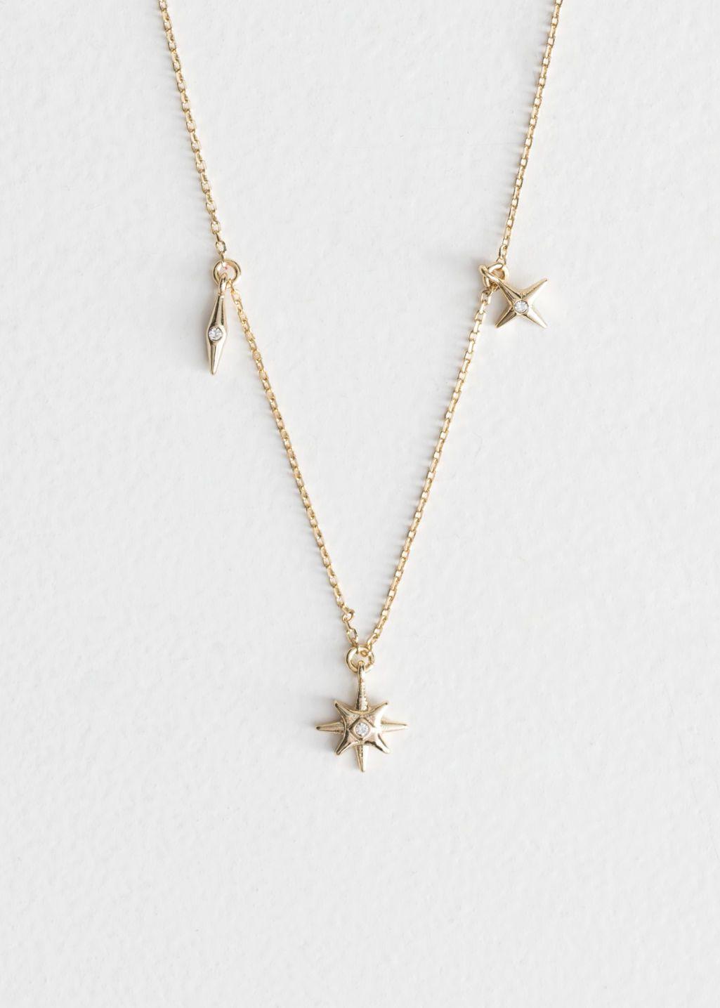 Women Girls Cat And Moon Gold Silver Necklace Chain Choker Jewellery Pendant UK
