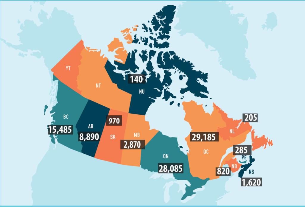 Job vacancies increased across Canada in the last three