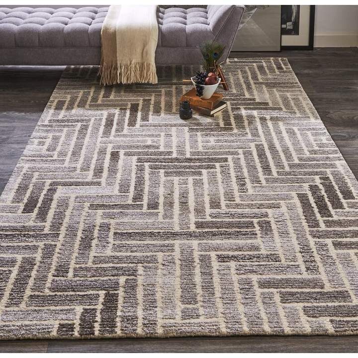 Wrought Studio Chulmleigh Taupe Natural Area Rug Natural Area Rugs Area Rugs Beige Area Rugs